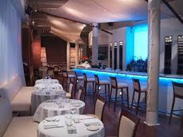 Contemporary Restaurant Furniture Design Thalassa Bar NEW YORK