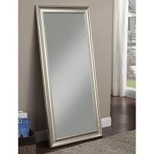 Sandberg Furniture Silver Beveled Wall Mirror