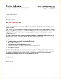 Accounting Cover Letter Sample Position For Image Resume Masters