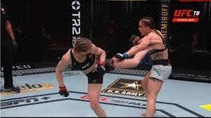 Завершился турнир смешанных единоборств UFC 255. Основные результаты   ИА  Красная Весна