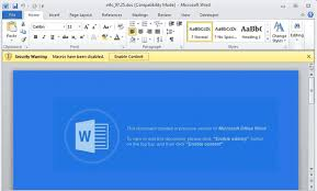 Micorsoft Office Word Ursnif Is Back In Word Documents To Steal Your Identity