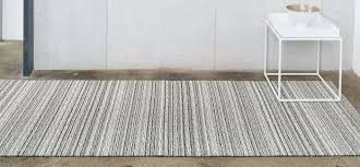 chilewich  floor  indooroutdoor mats  shag skinny stripe  birch