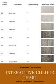 Caran Dache Pablo Interactive Colour Chart Artnitso Co