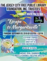 Escape to Margaritaville - Jersey City Free Public Library