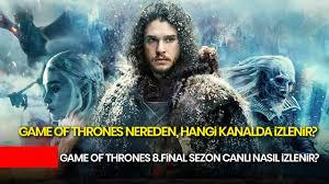 hd game of thrones 8 sezon 4 bölüm izle türkçe