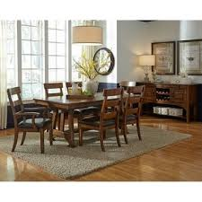 Shop Simply <b>Solid</b> Kern <b>Solid</b> Wood <b>9</b>-<b>piece</b> Dining Collection - On ...