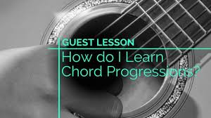 Easy Guitar Chord Progression Chart How Do I Learn Chord Progressions Guitar Lesson World