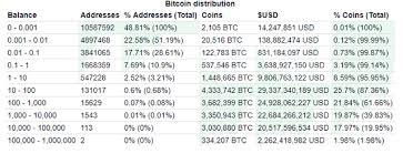 Bitcoin Distribution Chart 5 Interesting Facts About The Richest Bitcoin Addresses