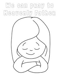 Small Picture Primary 3 Lesson 34 We Can Pray to Heavenly Father LatterdayVillage