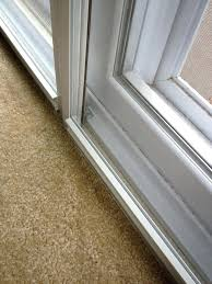 sliding door seal close up of climate seal acoustical insert sliding glass door weatherstripping kit
