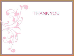 thank you notes templates thank you letter  thank you notes templates