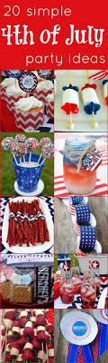 20 Simple 4th of July Party Ideas from @Kelsey Myers Graves, We Heart  Parties