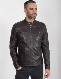 v racer leather jacket