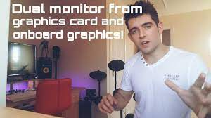 How to - Dual monitor using graphics card and onboard! - YouTube