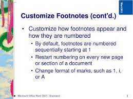 Microsoft Word Illustrated Ppt Download