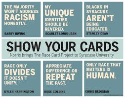 the race card project six word essays welcome to the race card project send in your own six word essay gwens take race morning coffee the race card project