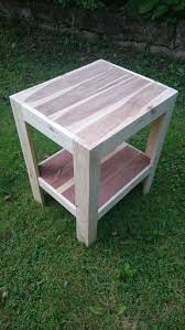 A small garden coffee table made entirely out of reclaimed pallet wood.  #Garden,
