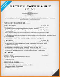 40 Electrical Engineering Resume Examples Dragon Fire Defense Simple Electrical Engineering Resume