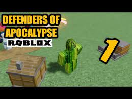 Grab it now before it's too late. This Game Is Good Tho Roblox Defenders Of Apocalypse 1 Youtube
