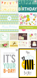 happy birthday card printable free olifa net