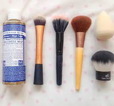 dr b makeup dr bronner s is great for cleaning makeup brushes