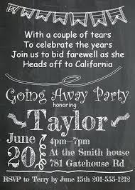 Farewell Party Invitation Template Free Lunch For Coworker