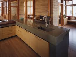 Intriguing Concrete Kitchen Counters Concrete Kitchen Counter in Concrete  Kitchen Countertops