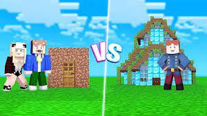 KATHA UND EPIC HAUS VS. MINECRAFT PRO BUILDER HAUS! - YouTube
