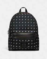 ACADEMY BACKPACK WITH DOT DIAMOND PRINT ...