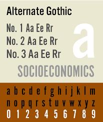Bank Gothic Bt Light Free File Alternate Gothic Svg Wikimedia Commons