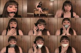 Bondage phone talk gags