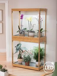 House Plant Led Grow Light Bamboo Display Led Grow Light Garden In 2019 Indoor Garden