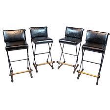 set of 4 bar stools. Great Bar Stool Sets Of 4 Set Iron Oak And Leather Stools Cleo