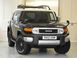 Used Black with White Roof Toyota FJ Cruiser For Sale | Surrey