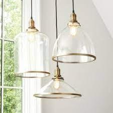 franklin hanging glass pendant lights