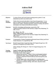 Lecturer Resume Objective Lecturer Resume Sample Sample Resume For
