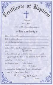 Sample Baptism Certificate Template Fascinating Baptism Certificate Template Fillable Feedscast