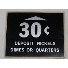 Do Vending Machines Take Dimes Awesome Soda Machine Sticker 48c DEPOSIT NICKELS DIMES OR QUARTERS