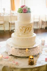 monogrammed wedding cakes. unique tall double centerpiece wedding cake with gold monogram monogrammed cakes y