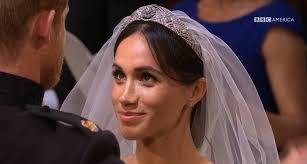 meghan markle s stray wedding hairs had the internet freaking out