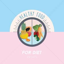 Design A Poster On The Topic Of Healthy Food Healthy Food Poster Design Vector Image 1959992