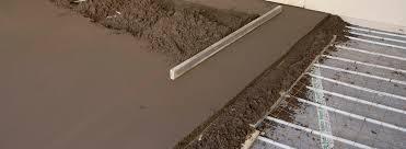 underfloor heating underfloor cooling environmentally friendly heat isowarm flowcrete uk ltd