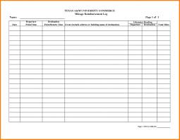 Workers Compensation Mileage Reimbursement Form Lobo Black