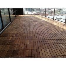vietnam natural solid teak floor tile waterproof teak wood deck tile for outdoor balcony terrace