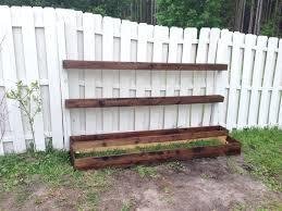 fence planter boxes y ddnt bor stan th drt fence board planter boxes picket fence  planter