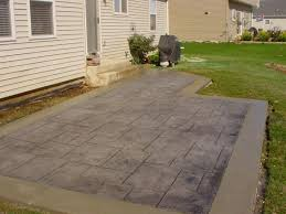 patio ideas stamped concrete cost per square foot ideass