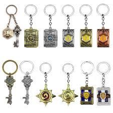 Fashion Jewelry Hot Sale <b>Hearthstone Heroes</b> Of Keychain <b>Heroes</b> ...
