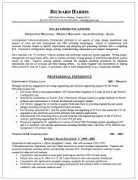 Sample Resume For Telecom Engineer It Sales Engineer Resume Example