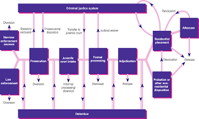 Criminal Process Chart Case Flow Diagram