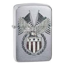 Купить <b>зажигалку Zippo</b> (Зиппо) с военной тематикой ...